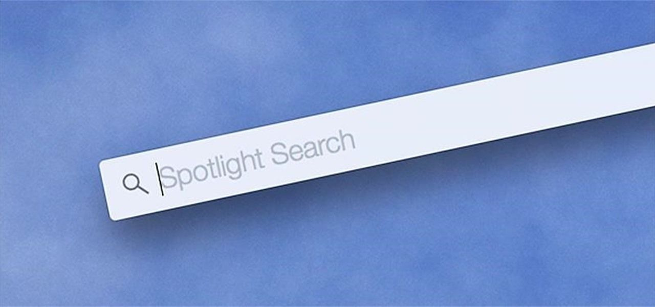 OS X Yosemite spotlight
